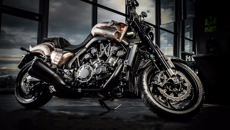 Carlex Channels 'Mad Max' For Custom Yamaha V-Max 1700