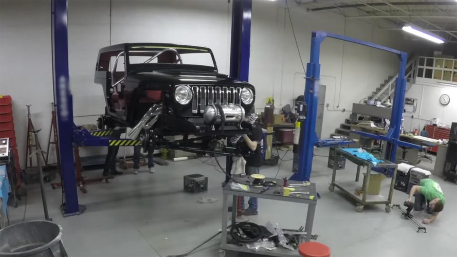 See How Jeep Built The Quicksand And Safari Concepts