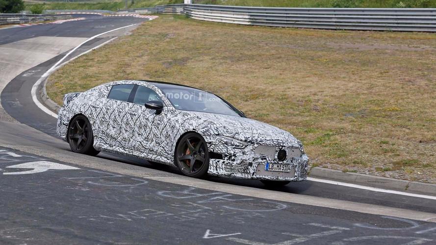 Mercedes-AMG GT Four Door Hits The Nurburgring For Testing