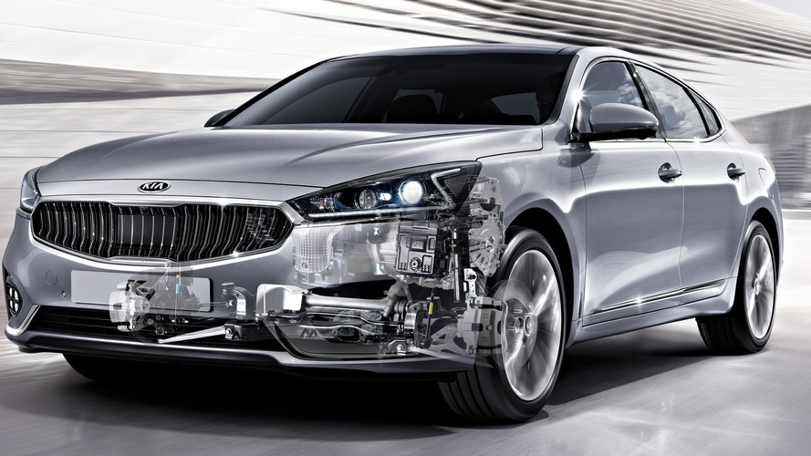 Kia details eight-speed auto for FWD cars