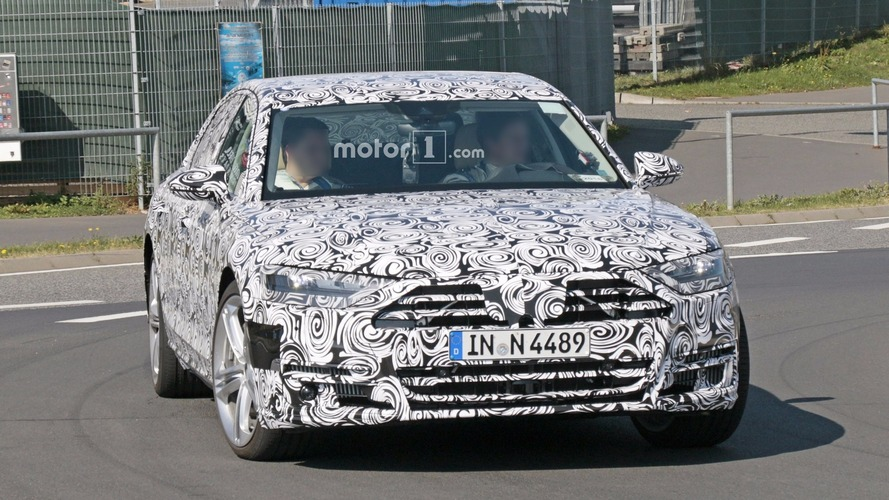 2019 Audi S8 shows its sporty bits near the Nurburgring