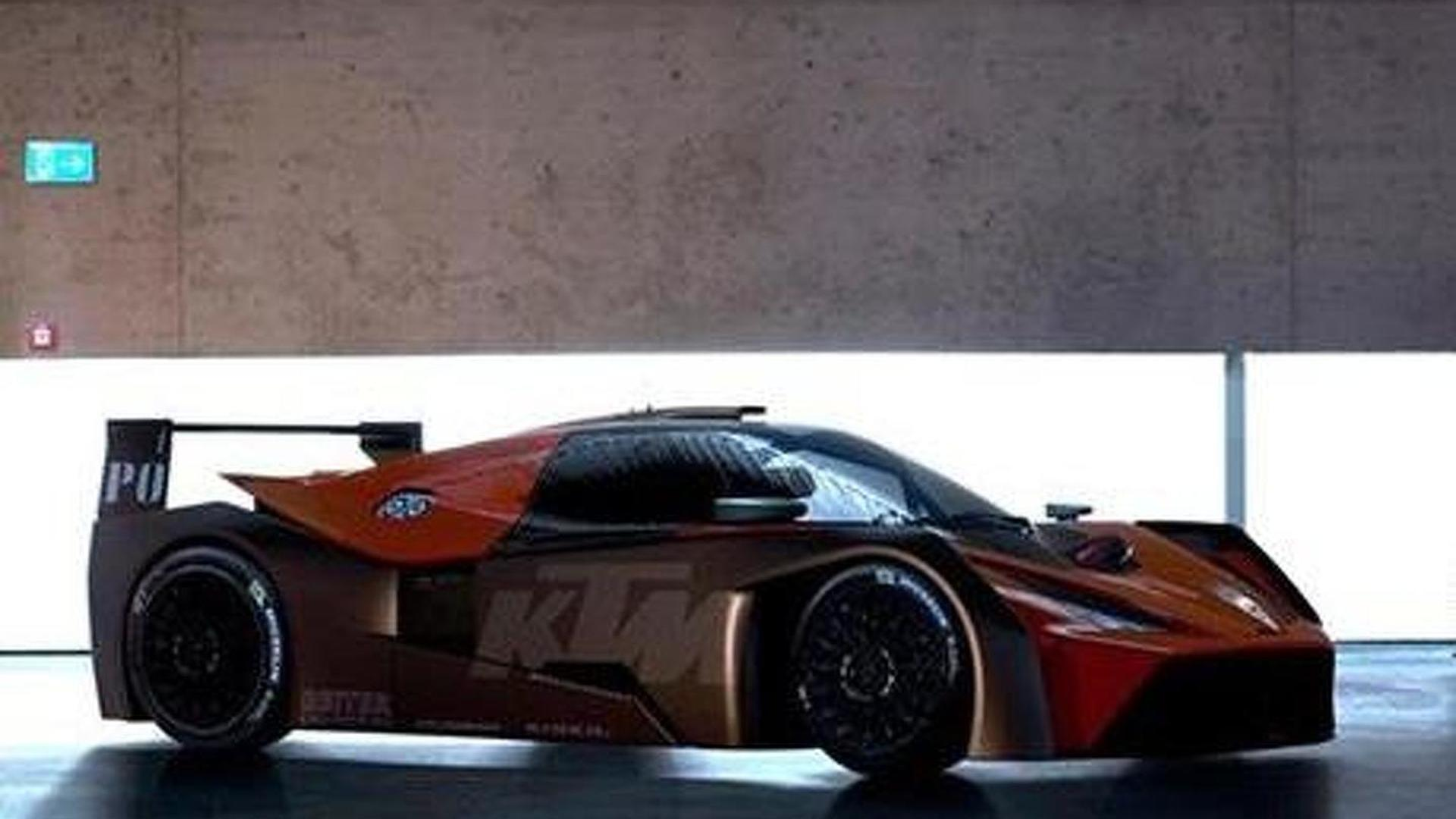 KTM X BOW GTR previewed costs €139 000