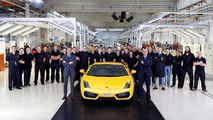 Automobili Lamborghini celebrates production record with ten thousand Gallardo models 24.06.2010