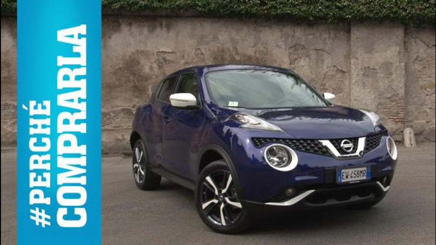 Nissan Juke restyling, perché comprarla... e perché no [VIDEO]