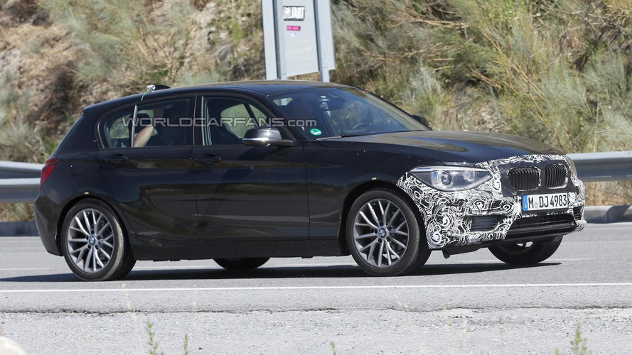 2014 BMW 1-Series facelift spied hiding modest changes