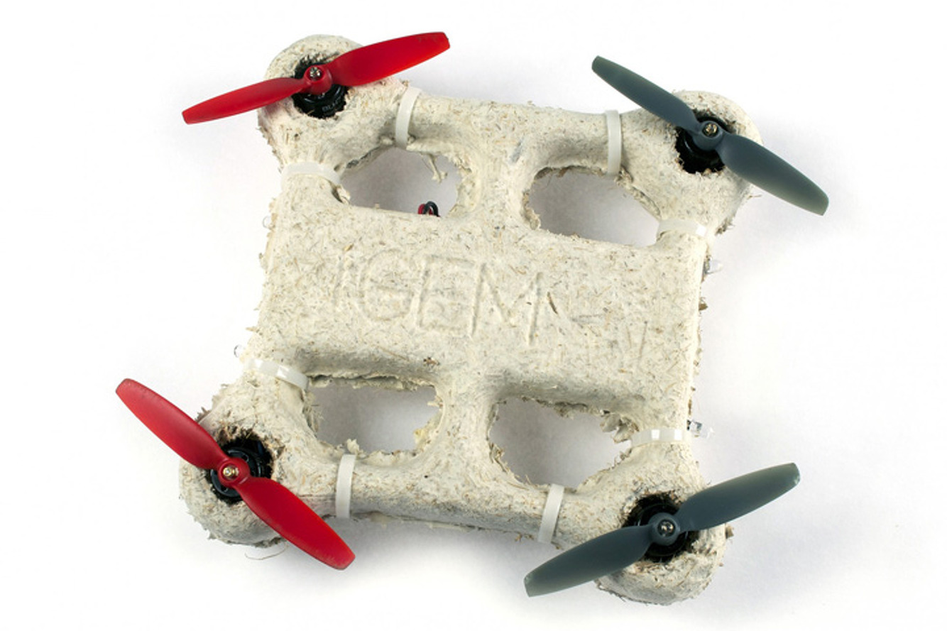 Students Created a Flying Fungus Drone