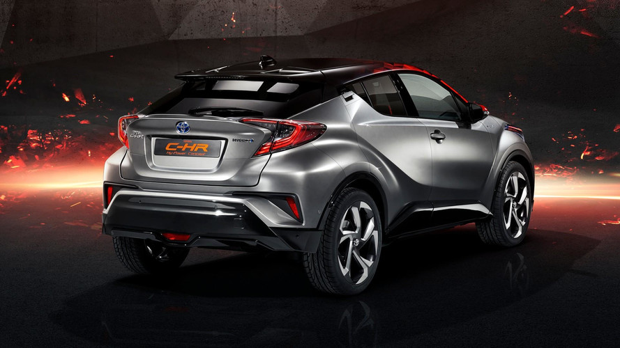 Toyota C-HR Hy-Power Concept official images