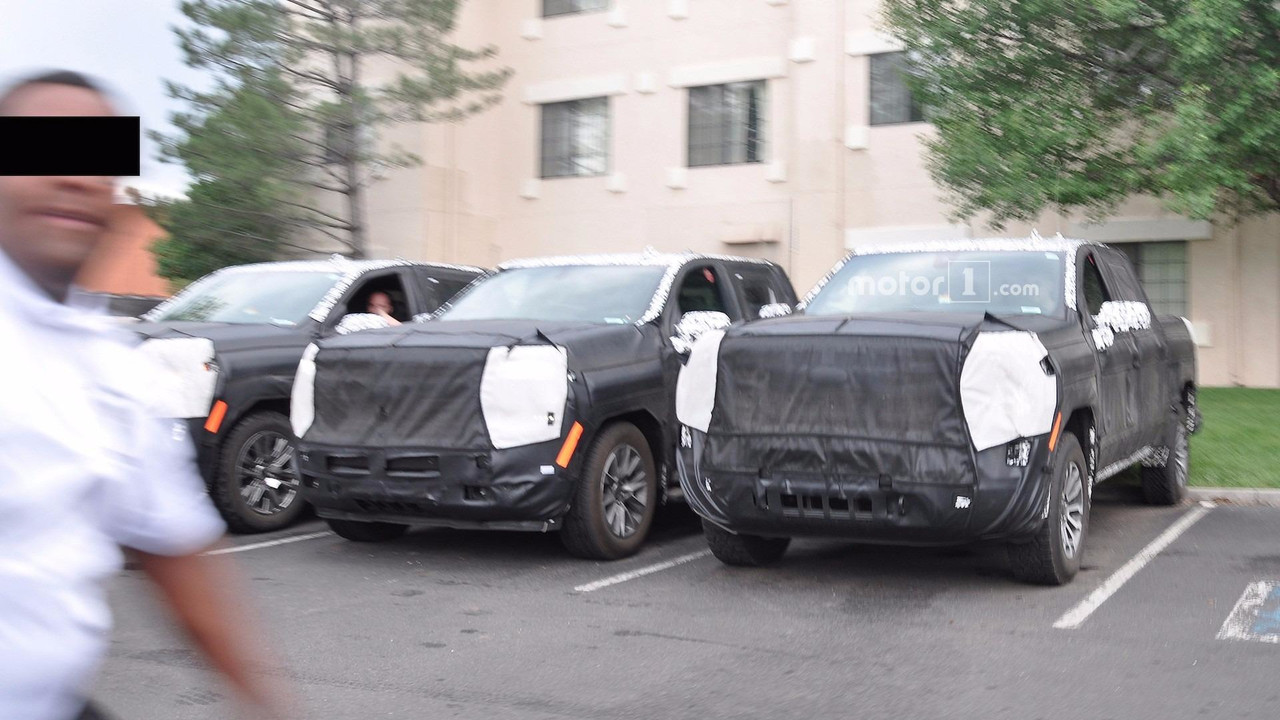 2019 Chevy Silverado/GMC Sierra Spy Photos