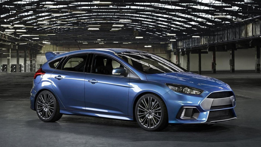 Ford Ireland says Focus RS has 350 PS; company spokesman mentions figure is not accurate