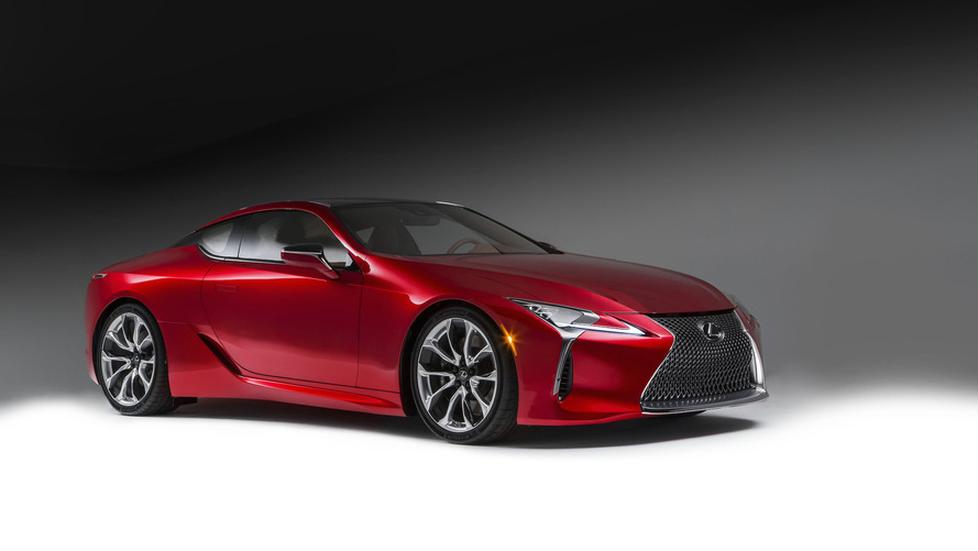 2017 Lexus LC 500 provokes Detroit with 467 hp [video, LIVE PICS ADDED]