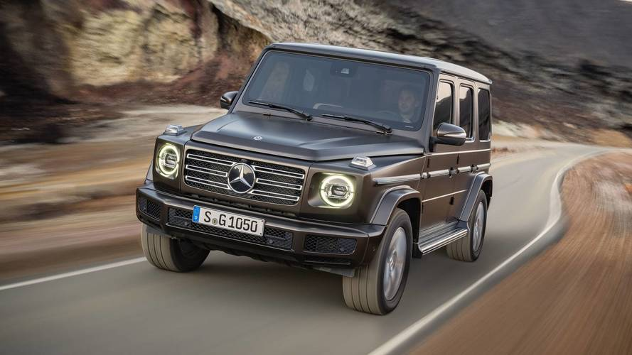 The new 2018 Mercedes G-Class – just like the old one, but better