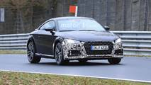 Audi TT Refresh Spy Shots