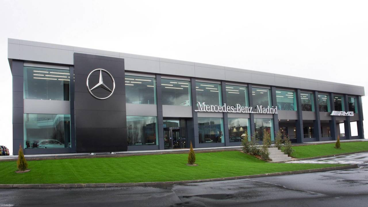Mercedes-Benz Flagship Store, en Madrid