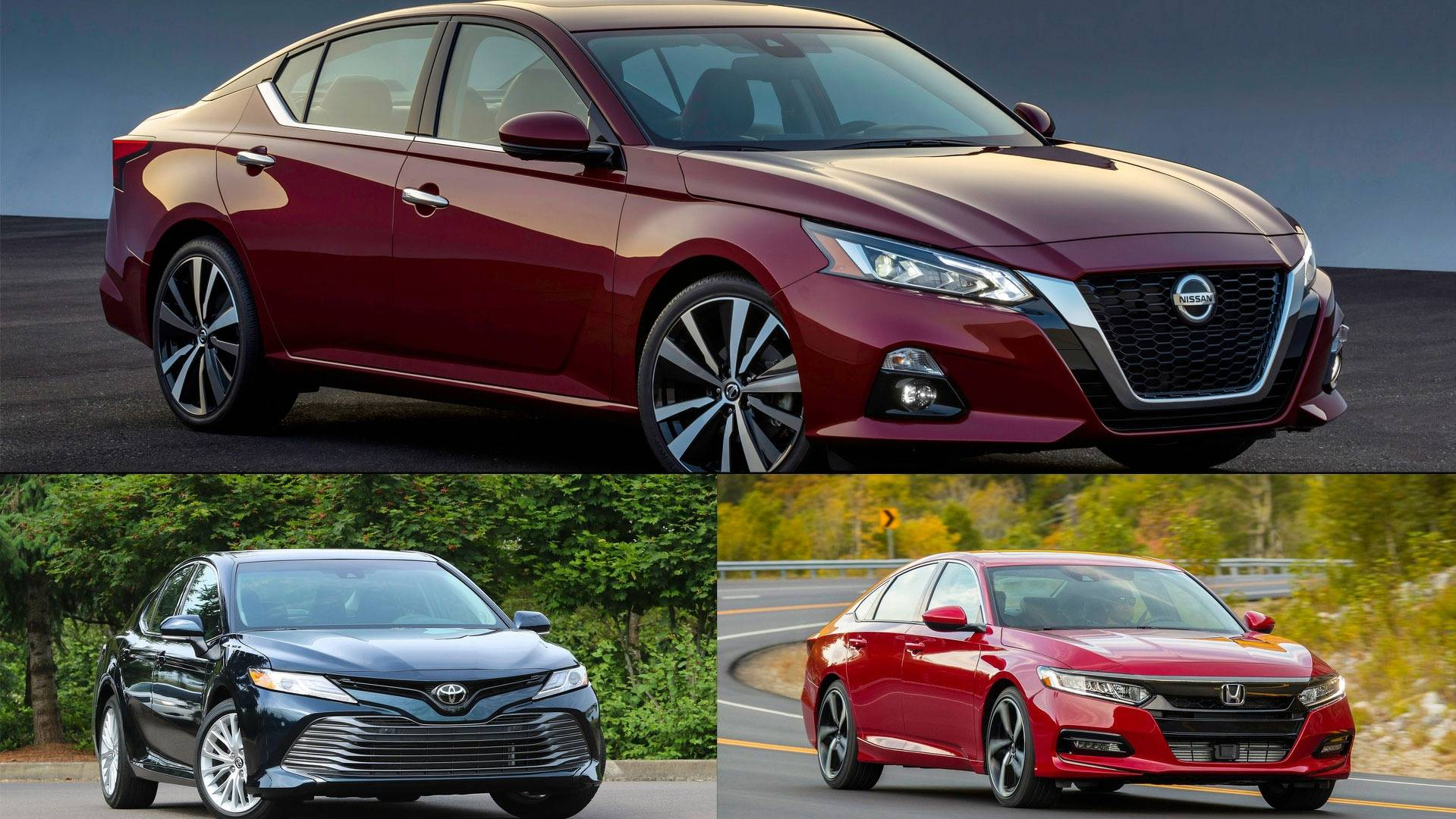 How The 2019 Nissan Altima Stacks Up To Its Japanese petitors