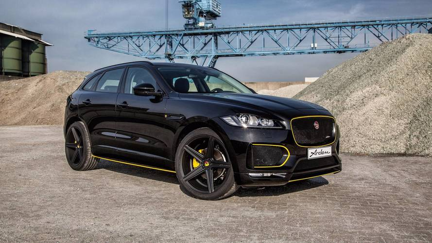 Arden Beefs Up The Jaguar F-Pace With 410 HP
