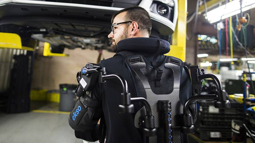 Ford equips factory workers with exoskeletons