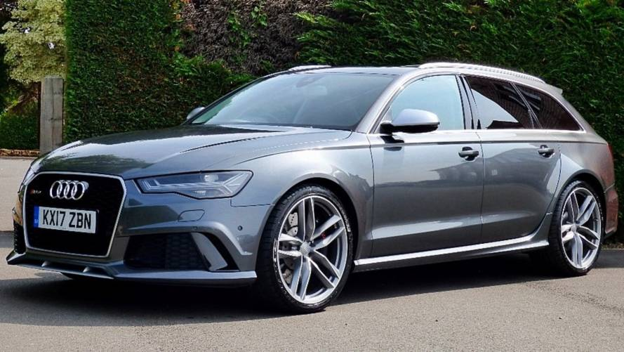Prince Harry's Audi RS6 Avant Is For Sale