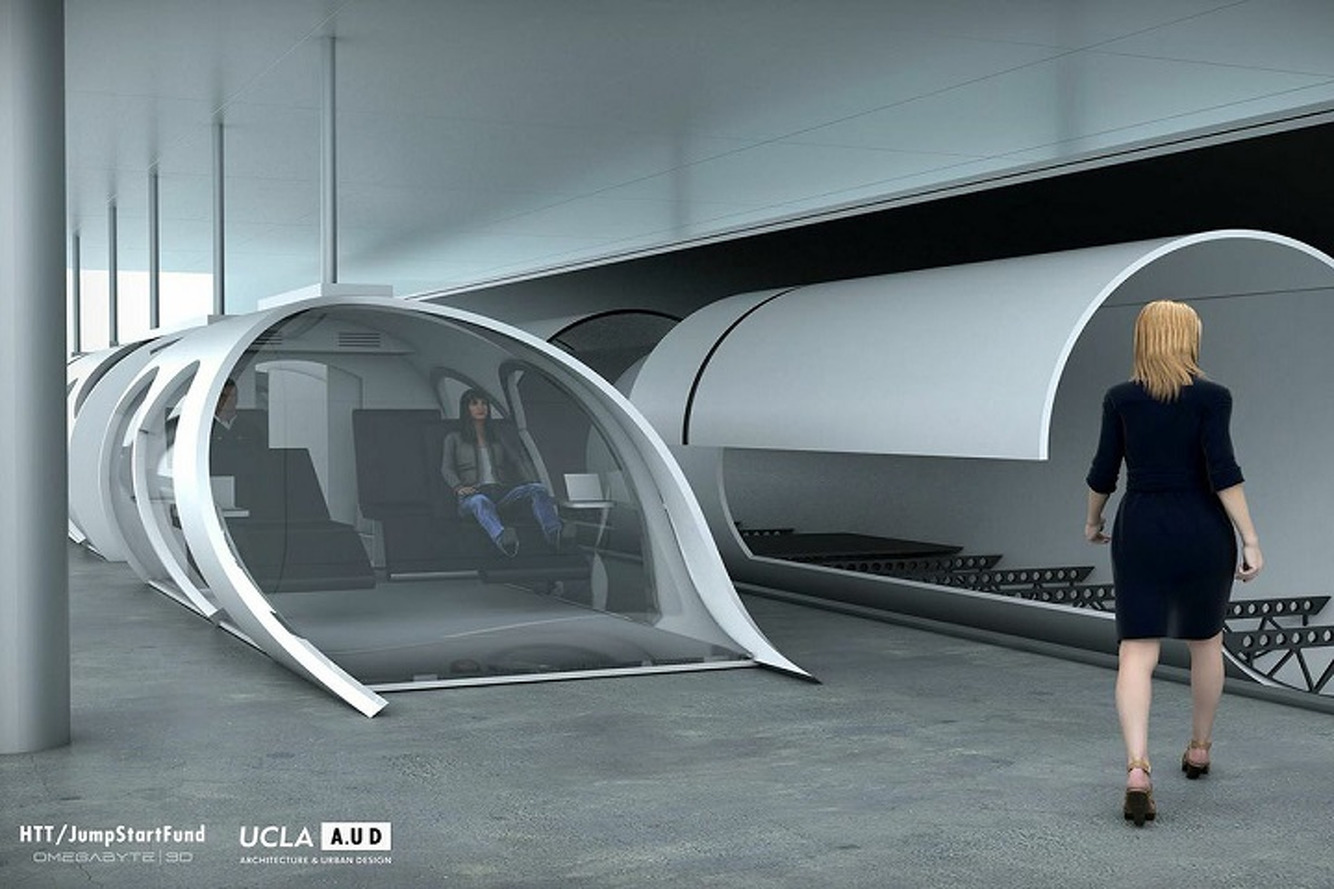 There's a Company Working To Make Elon Musk's Hyperloop Real
