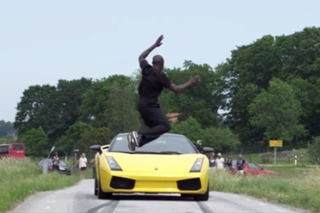 This Guy Jumped Over a Lamborghini Going 80 MPH [Video]
