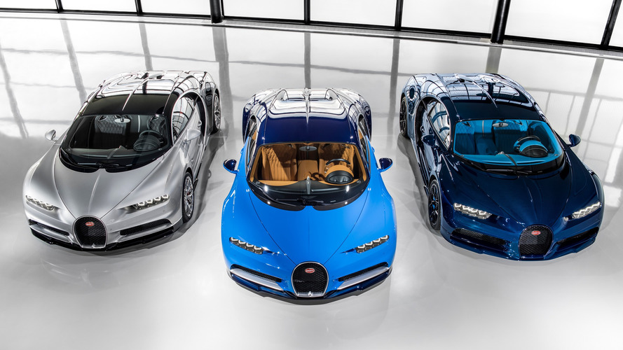 Bugatti Chiron deliveries officially begin