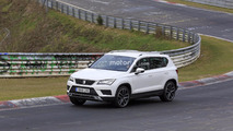 2018 SEAT Ateca Cupra spy photos