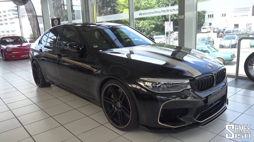 New Manhart MH5 Detailed On Video, The BMW M5 To Rule Them All