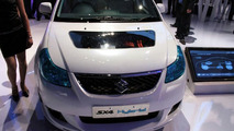 Suzuki SX4 Hybrid Concept live at 2010 New Delhi Auto Expo - 1200 - 05.01.2010