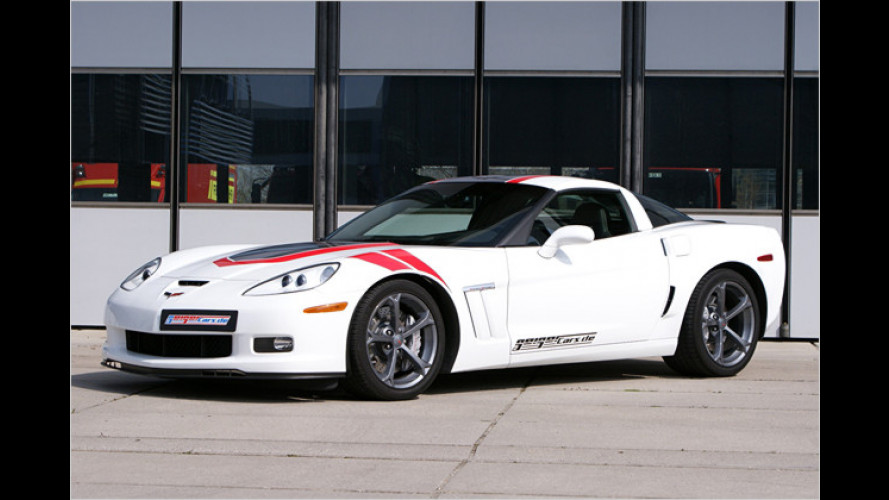 Fette Geiger-Vette: Corvette Grand Sport mit 588 PS