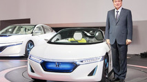 Honda Small Sports EV Concept with Takanobu Ito President and Chief Executive Officer