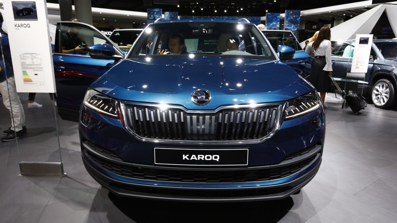 skoda karoq vrs performance version under consideration. Black Bedroom Furniture Sets. Home Design Ideas