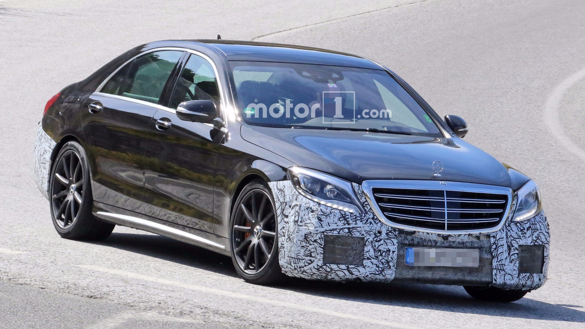 2018 Mercedes AMG S63 and S Class spied testing