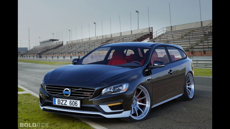 Volvo V60 Two Door Estate Concept by Zolland Design