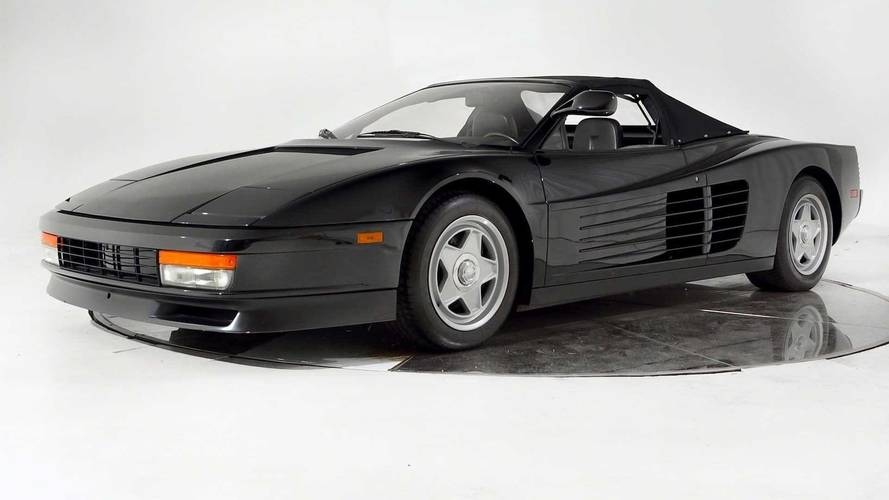 This is it – Michael Jackson's unique Ferrari Testarossa for sale