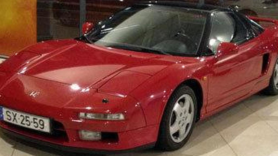Another Honda NSX previously owned by Senna appears on eBay