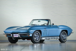 Bold School: 1966 Chevrolet Corvette 427/425 Roadster