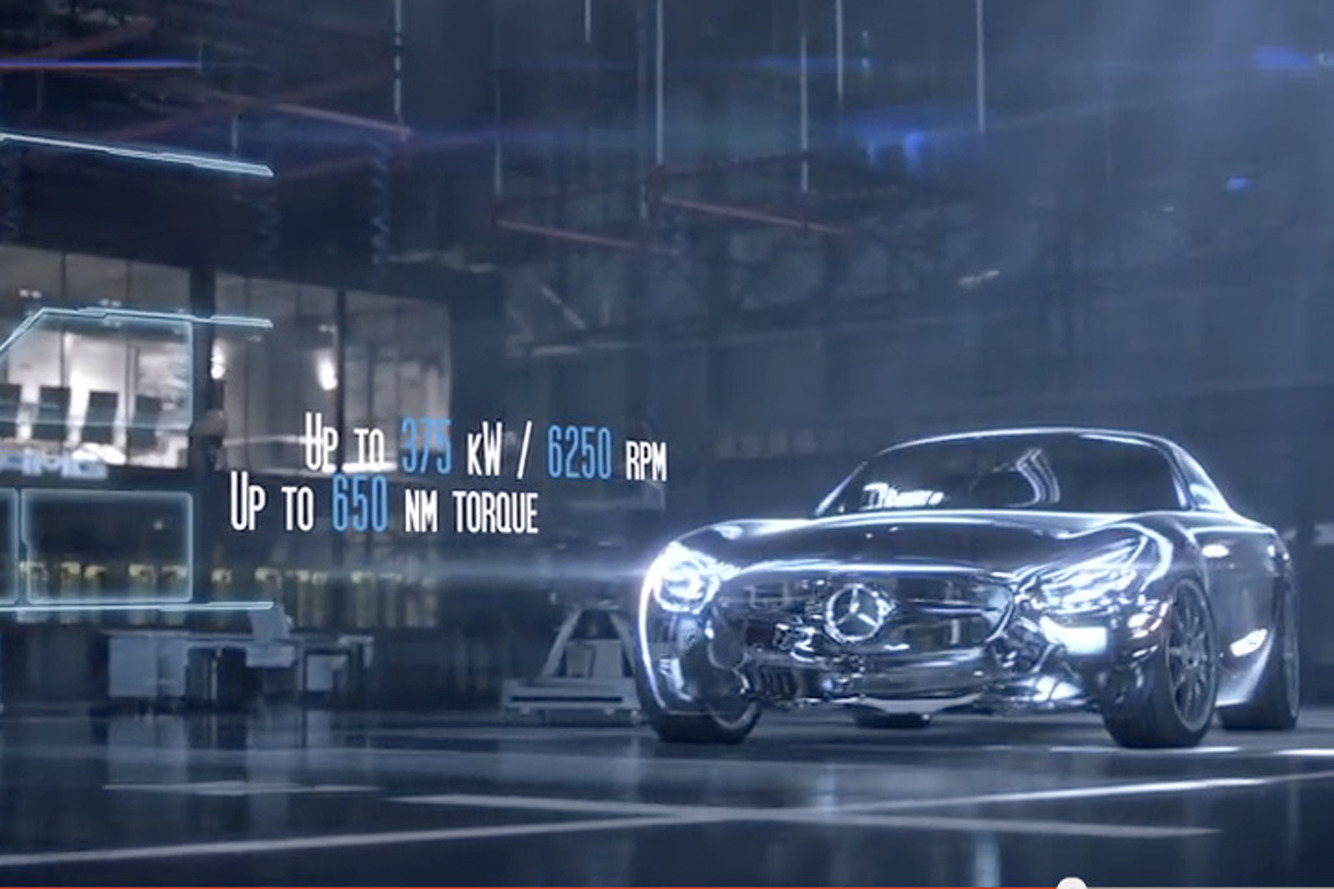 Mercedes Released the AMG GT Engine Specs