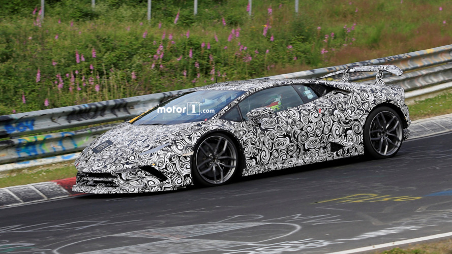Lamborghini Huracan Superleggera sounds amazing at the Nurburgring