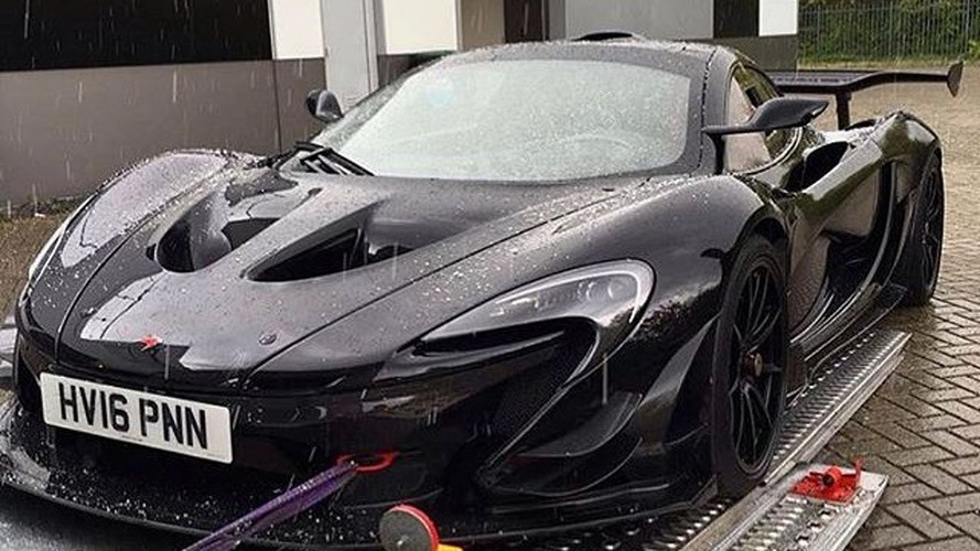 Another road-legal McLaren P1 GTR spotted in the wild