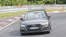 2018 Audi S8 new spy photos from the Nürburgring
