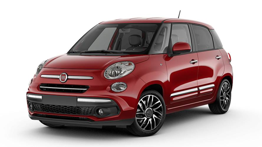 2018 Fiat 500X, 500L Chrome Packages