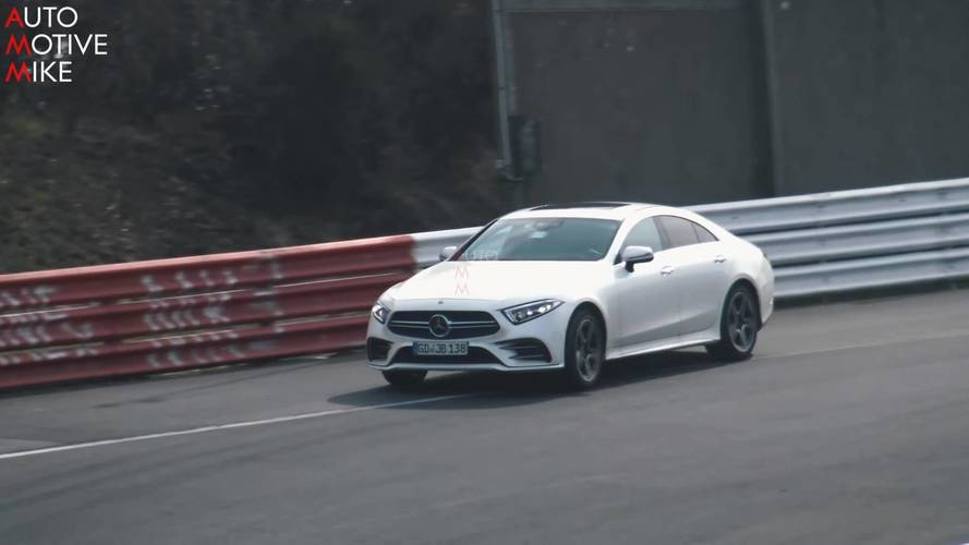 Spy Video Shows Mercedes-AMG Hasn't Finished Testing The CLS 53