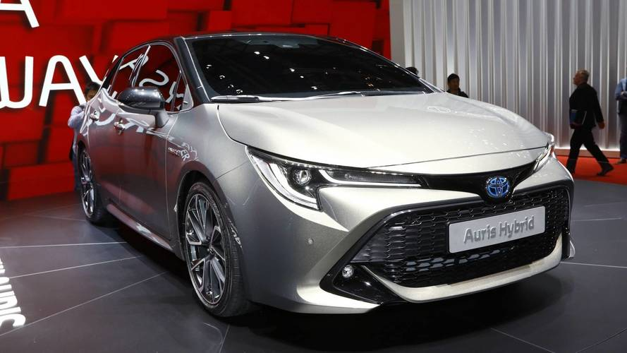 New Toyota Auris Debuts Brand's New Dual Hybrid Strategy