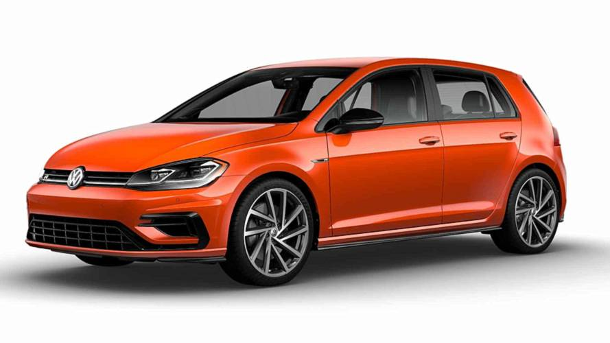VW Golf R Lets You Taste The Rainbow With 40 New Colors Available