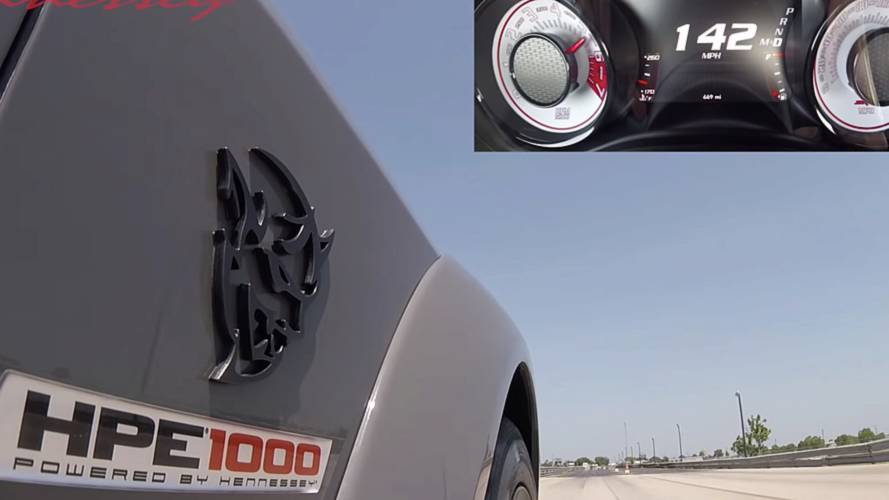 Watch And Listen To The Monster That Is Hennessey's Dodge Demon