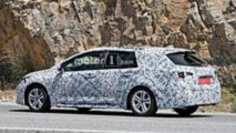 2019 Toyota Auris Touring Sports Wagon Spy Photos