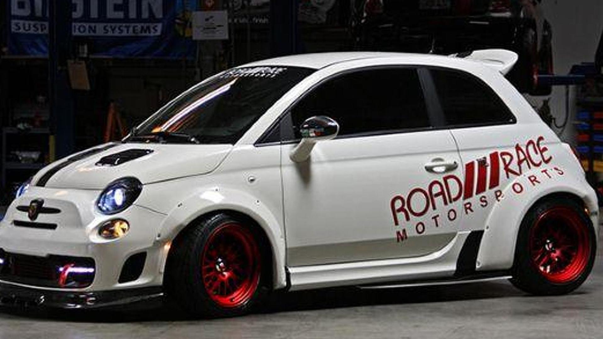 250 bhp Fiat 500 by Road Race Motorsports is a true pocket rocket