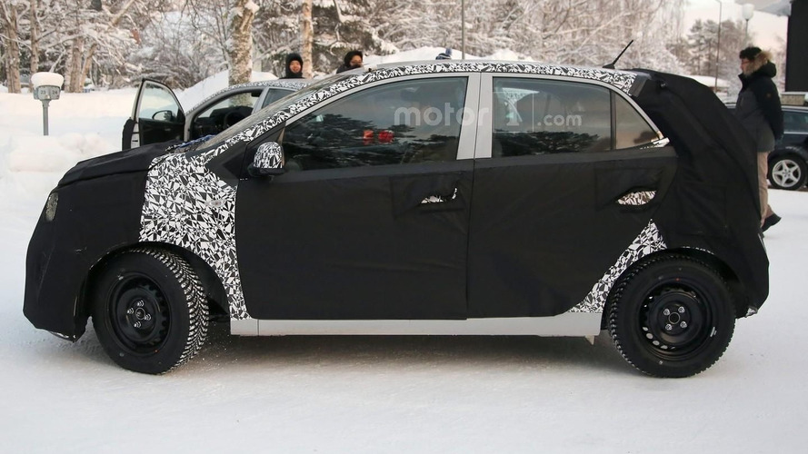 2017 Kia Picanto spied inside and out (41 pics)