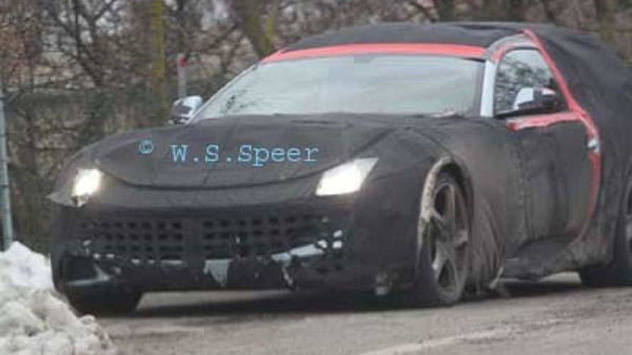 Mysterious Ferrari 612 prototype spotted - possible shooting brake?