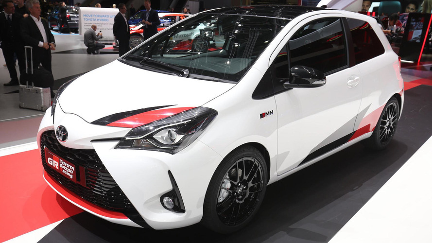 Süperşarjlı hot hatch Toyota Yaris GRMN Cenevre'de boy gösteriyor