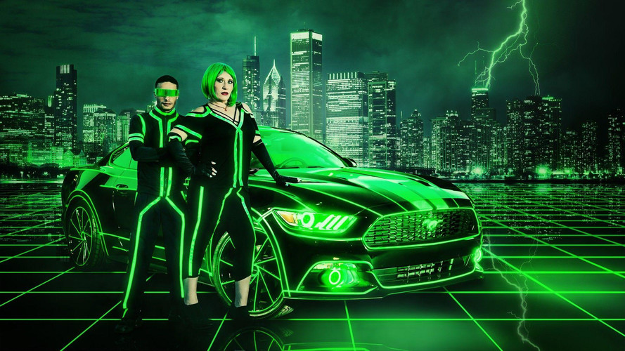 Sci-Fi Fan Gives Tron Treatment To His 2015 Ford Mustang